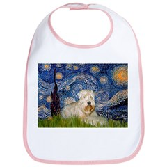 Starry / Wheaten T #1 Bib