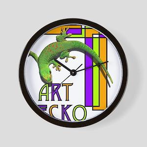 art gecko-2 Wall Clock