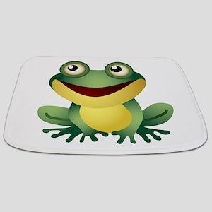 Green Cartoon Frog-4 Bathmat