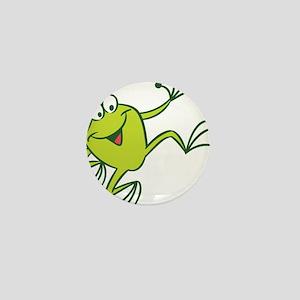 Dancing Frog Mini Button