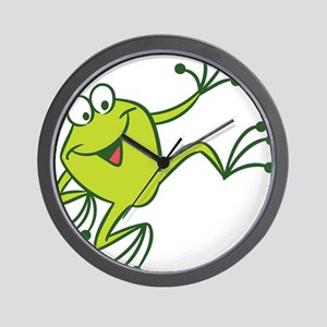 Dancing Frog Wall Clock