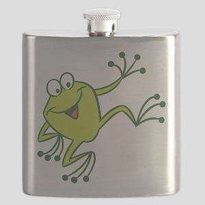 Dancing Frog Flask