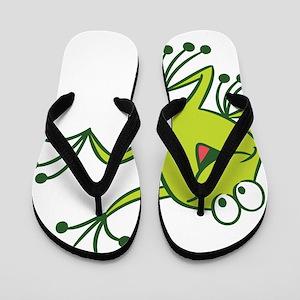 Dancing Frog Flip Flops