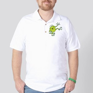 Dancing Frog Golf Shirt