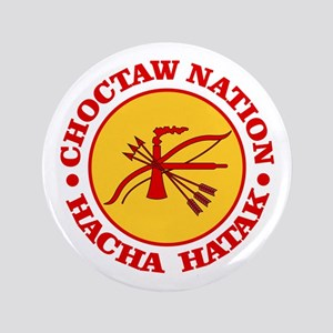 "Choctaw Nation 3.5"" Button"