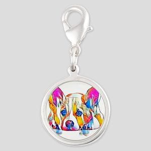 Colorful Corgi Puppy Charms