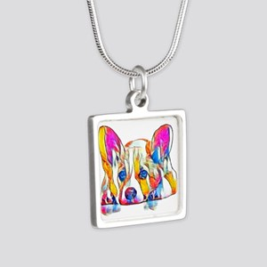 Colorful Corgi Puppy Necklaces