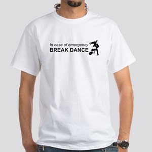 Breakdance White T-Shirt