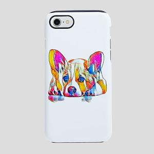 Colorful Corgi Puppy iPhone 7 Tough Case