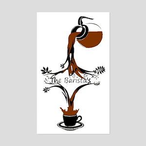 The Barista's Sticker (Rectangle)