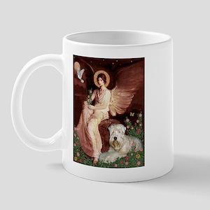 Seated Angel & Wheaten Mug