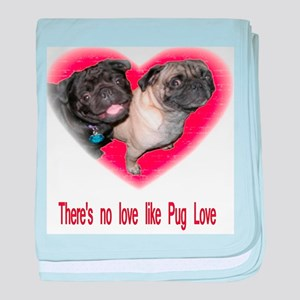 No Love baby blanket