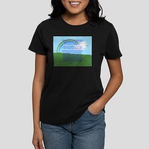 RainbowBridge2 Women's Dark T-Shirt