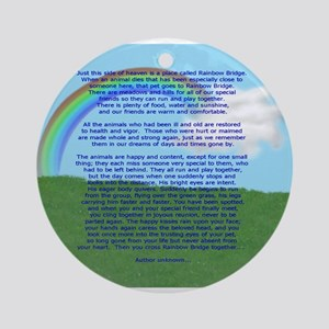 RainbowBridge2 Ornament (Round)