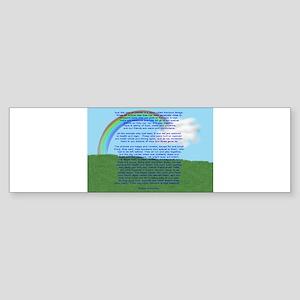 RainbowBridge2 Sticker (Bumper)