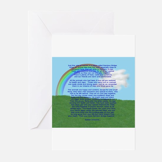 RainbowBridge2.jpg Greeting Cards (Pk of 10)