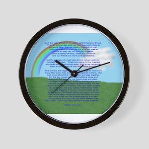 RainbowBridge2 Wall Clock