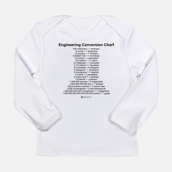 Conversion Chart - Long Sleeve T-Shirt
