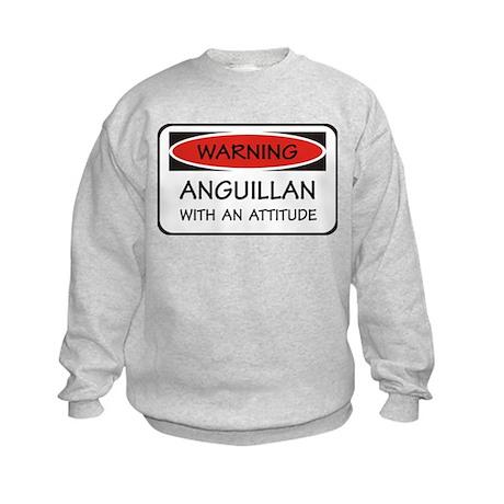 Attitude Anguillan Kids Sweatshirt