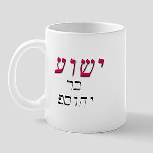 Jesus, son of Joseph Mug