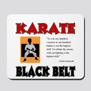 Black Belt Mousepad