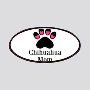 Chihuahua Mom Paw Print Patches