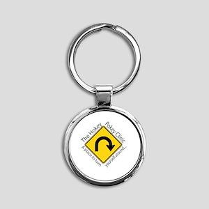 Hokey Pokey Clinic Round Keychain