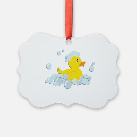 Rubber Duck Ornament