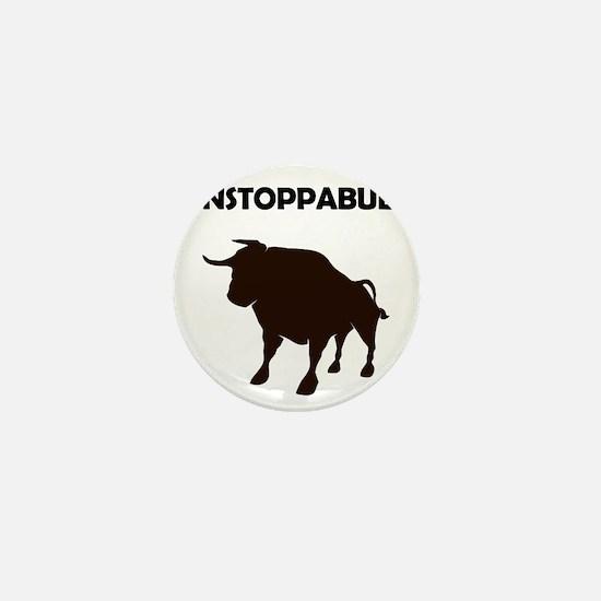 Unstoppabull (Unstoppable Bull) Mini Button