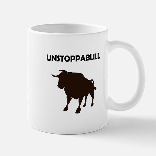 Unstoppabull (Unstoppable Bull) Mugs