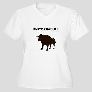 Unstoppabull (Unstoppable Bull) Plus Size T-Shirt