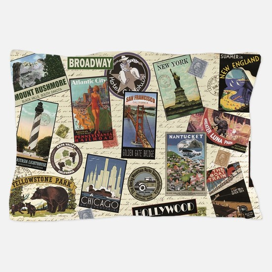 Funny Travel Pillow Case