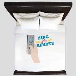 King Of The Remote King Duvet