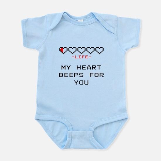 Zelda - My Heart Beeps for You Body Suit