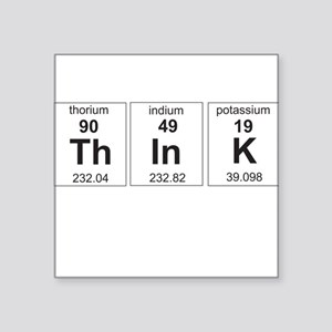 Periodic think elements Sticker