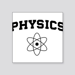 Physics atom Sticker