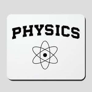 Physics atom Mousepad