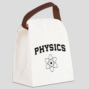 Physics atom Canvas Lunch Bag