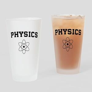 Physics atom Drinking Glass