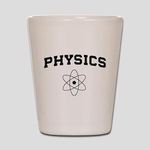 Physics atom Shot Glass