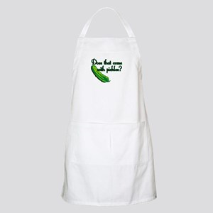 Does That Come w/ Pickles? BBQ Apron