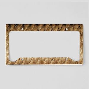 Rope License Plate Holder