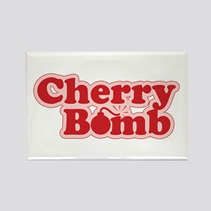 Cherry Bomb Rectangle Magnet