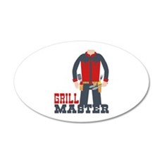 Grill Master Wall Decal