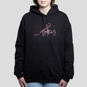 Breast Cancer Awareness Shirt Women's Hooded Sweat