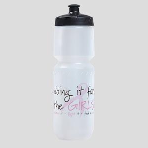 Breast Cancer Awareness Shirt Sports Bottle