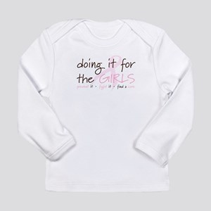 Breast Cancer Awareness Shirt Long Sleeve Infant T