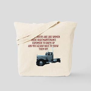Highend Trucks Are Like Women Tote Bag