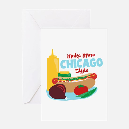 Make Mine Chicago Style Greeting Cards