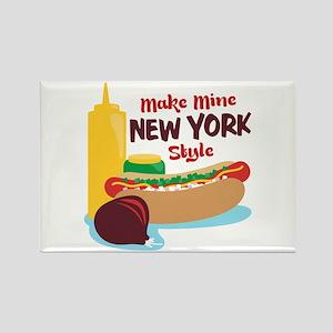 Make Mine New York Style Magnets